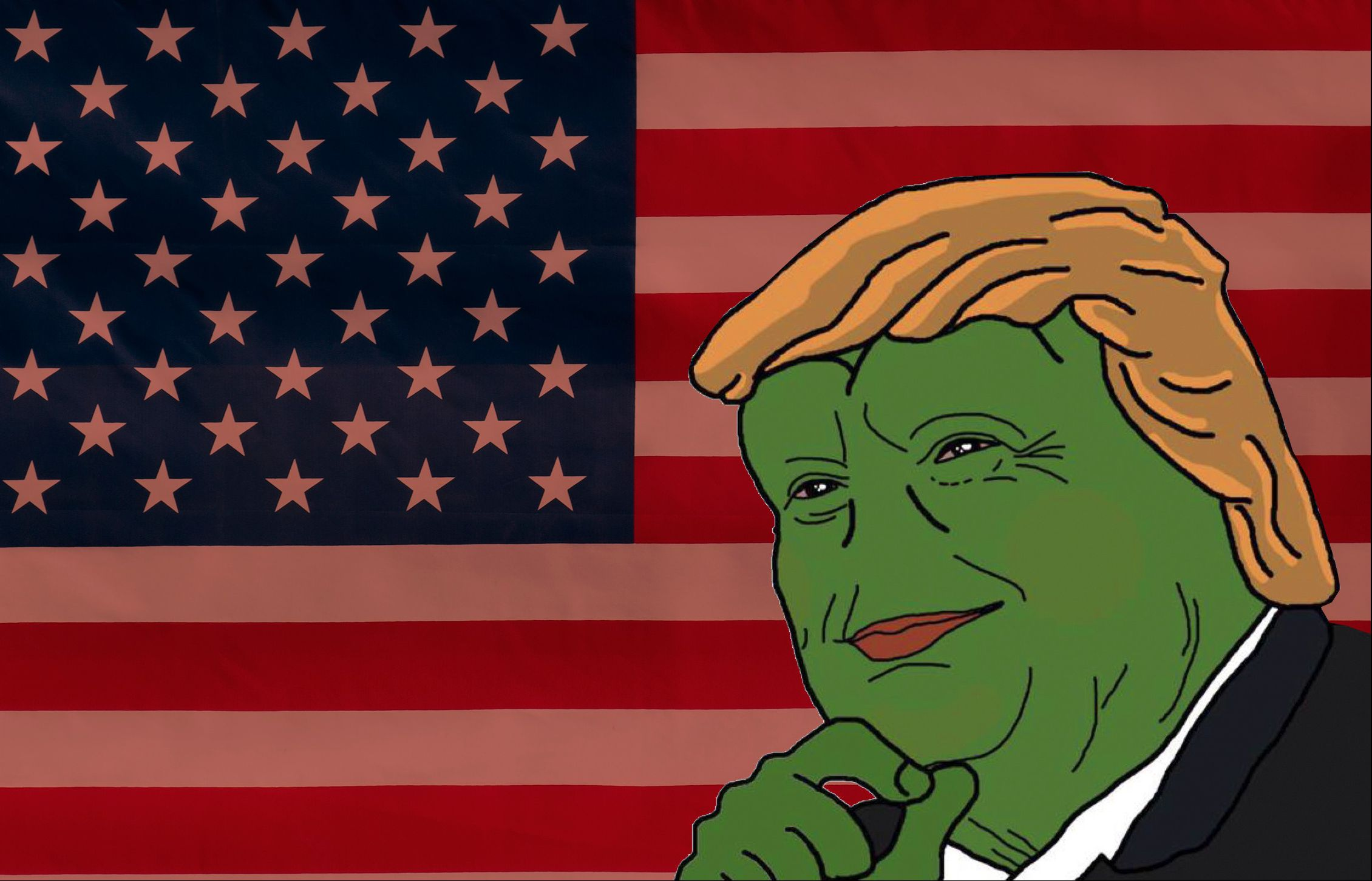 Alt-right, trump, Pepe the frog